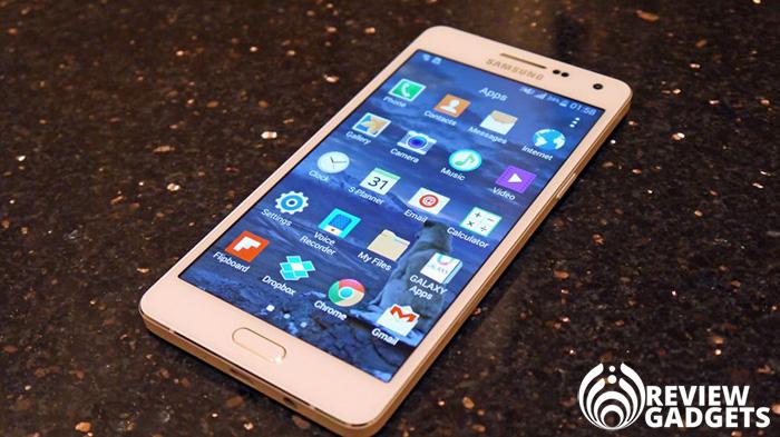 Samsung A5 smartphone
