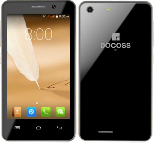 Docoss X1 Another smartphone revealed under Rs 1000