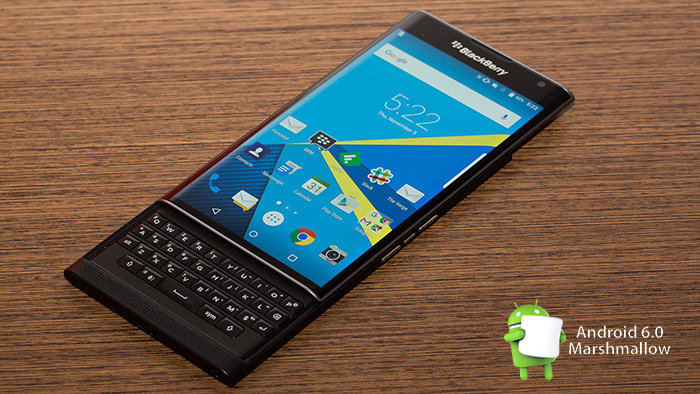 BlackBerry Priv - Android Marshmallow