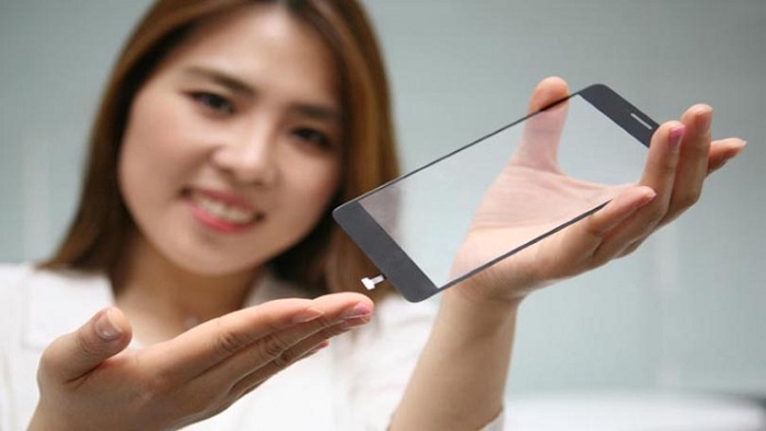 LG Fingerprint scanner Cover Full Display of Your Phone
