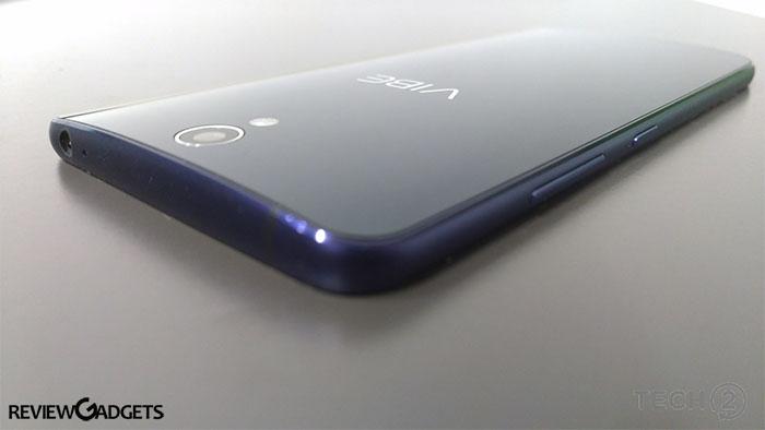 Lenovo Vibe S1 Side View
