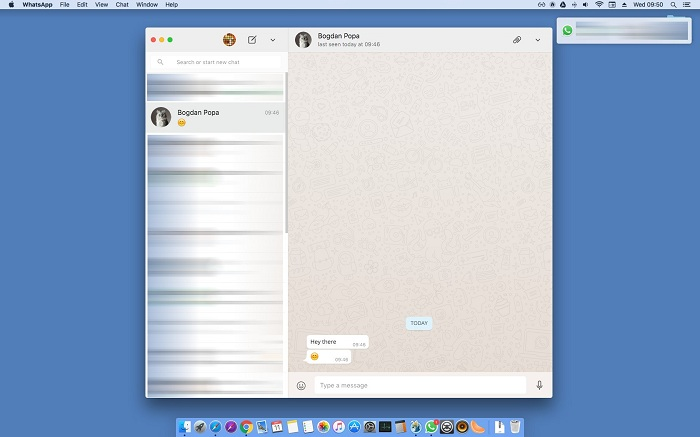 Whatsapp launched desktop apps for Windows and Mac