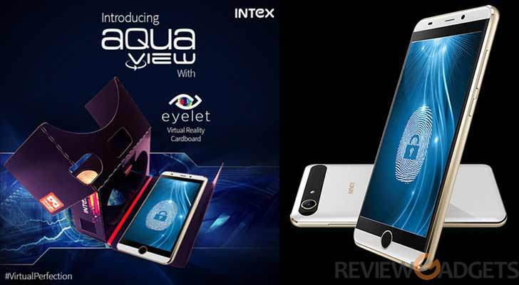Intex Aqua View With Eyelet VR Headset, Fingerprint Sensor