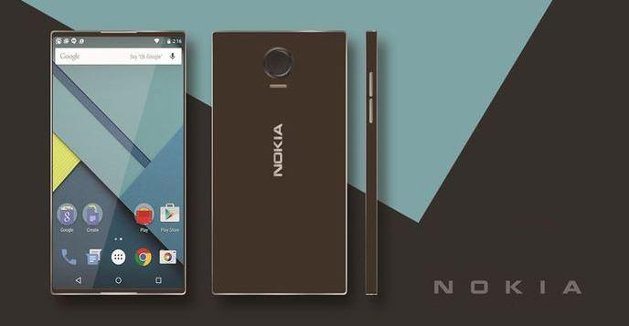 Nokia Android smartphones leak.