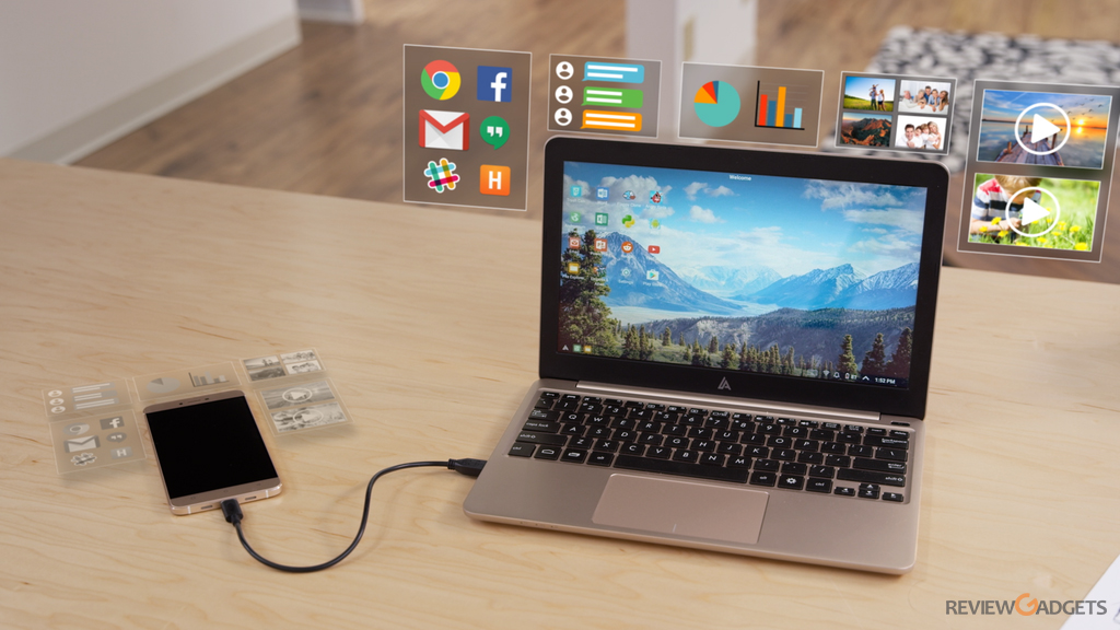 Superbook will turn your smartphone into laptop