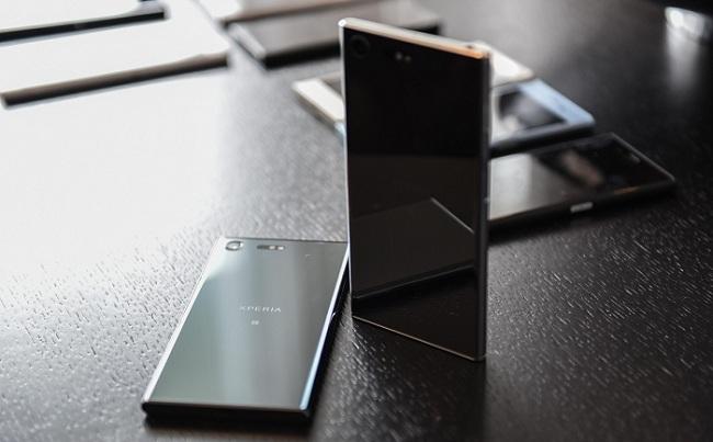 Insite view of, Sony Xperia XZ Premium