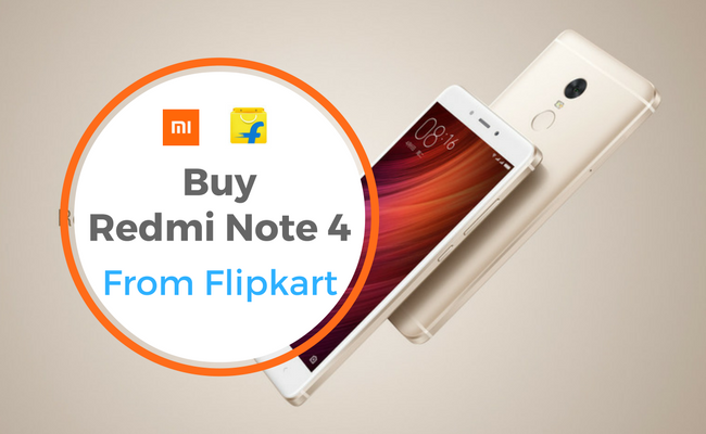 Flipkart Flash Sale of Xiaomi Redmi Note 4 in India; Here Is All You Need to Know