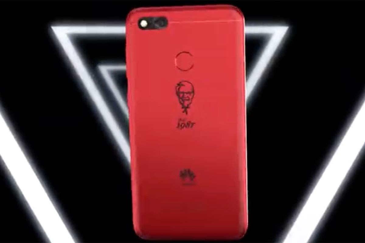 On the 30th anniversary, KFC and Huawei combine launching limited edition smartphone
