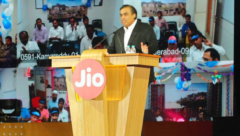 The Announcement including the Jio Feature Phone, Free DTH under the Reliance AGM