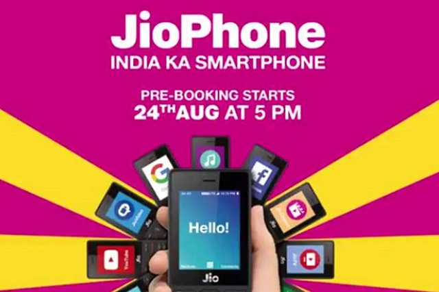 Jio Phone-booking