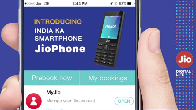 Jio Phone-booking