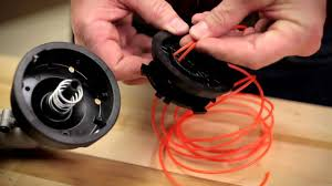 Restring A Trimmer Spool