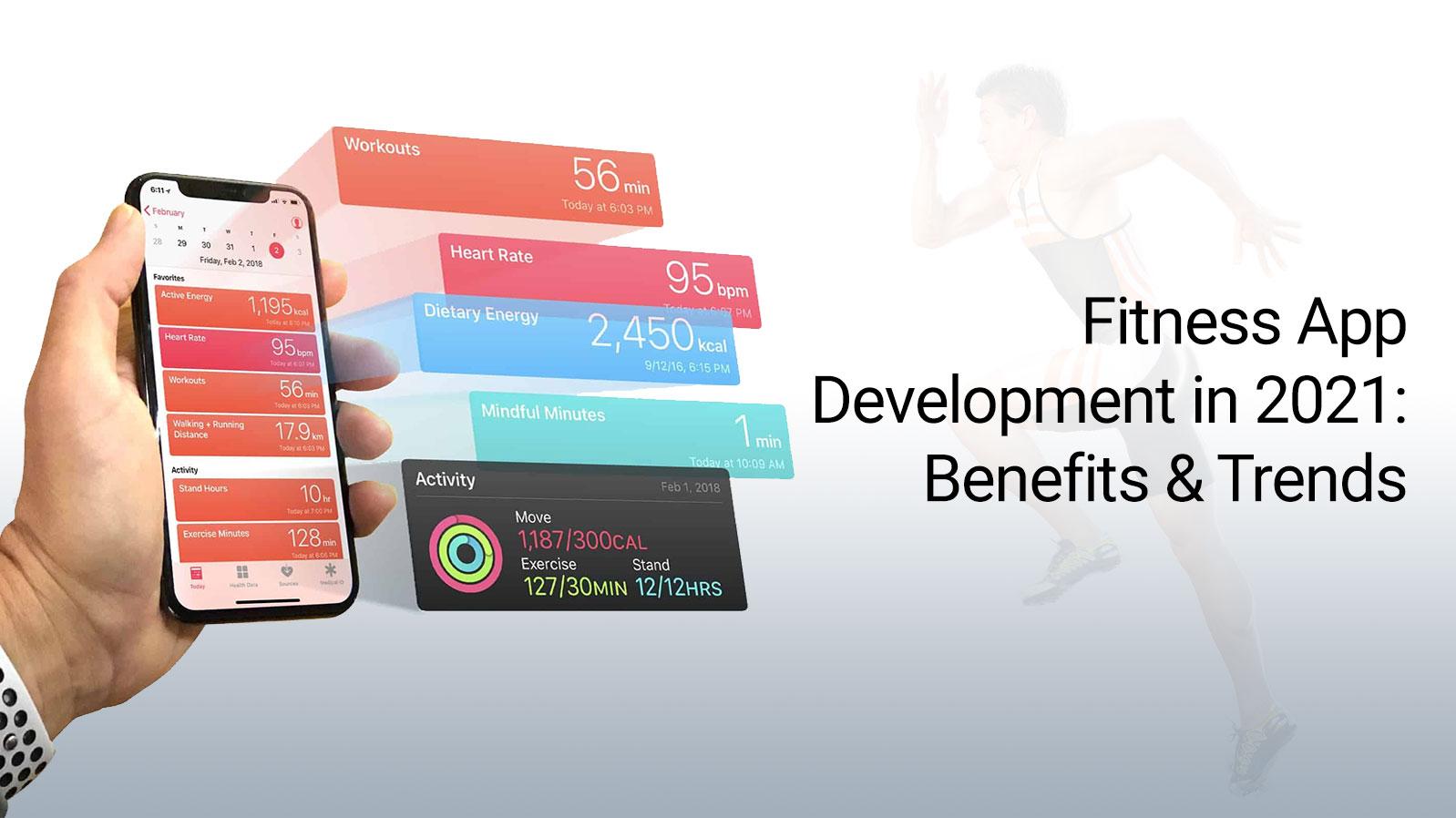 Fitness App Development in 2021: Benefits & Trends